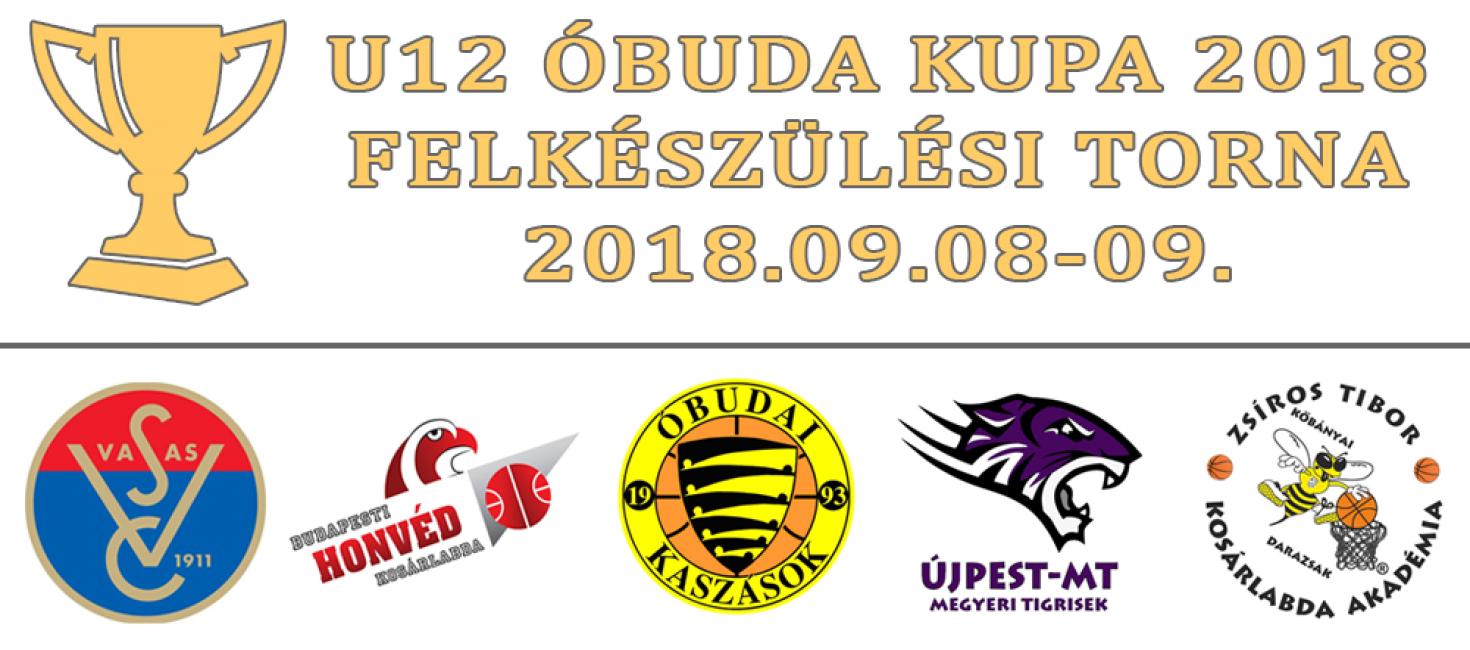 U12 Óbuda Kupa 2018 – Összefoglalás