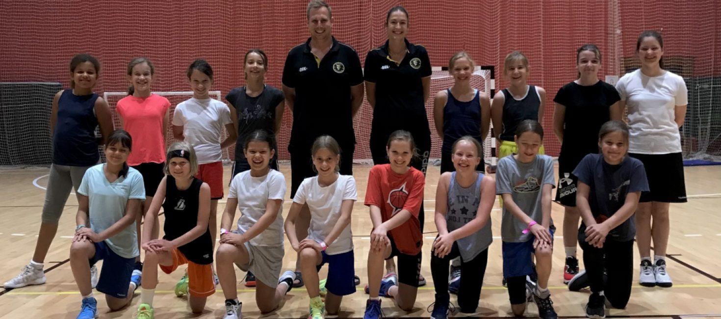 """U12 Lányok: Sokak első """"kalandja"""" Tamásiban"""